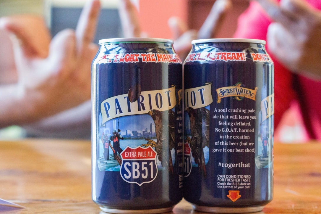 SweetWater Patriot Extra Pale Ale