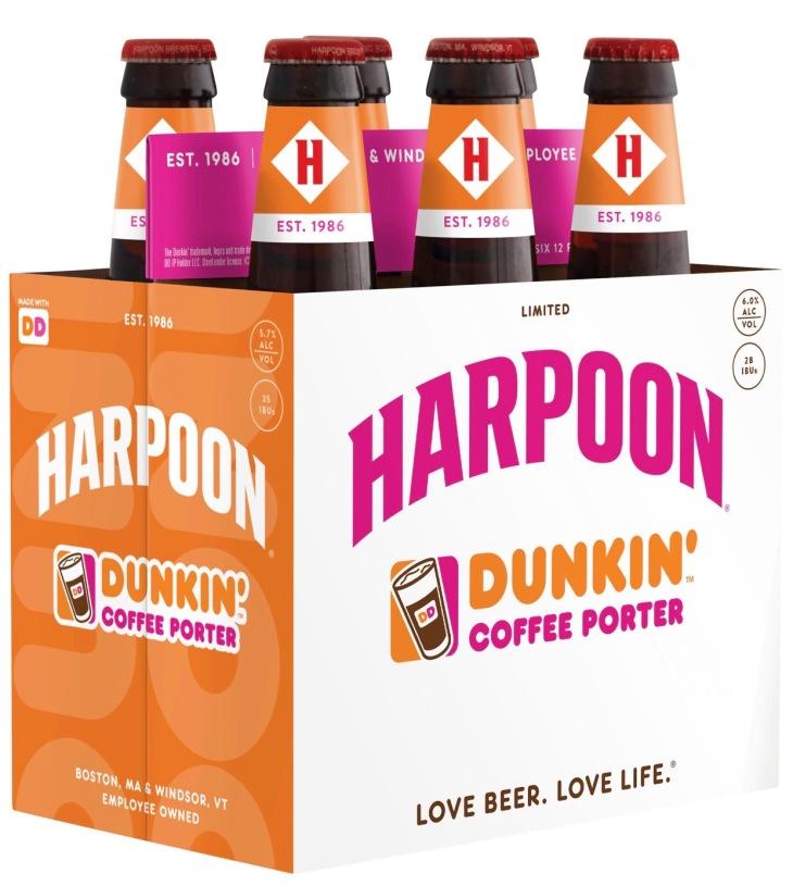 Harpoon Dunkin' Coffee Porter 6-pack